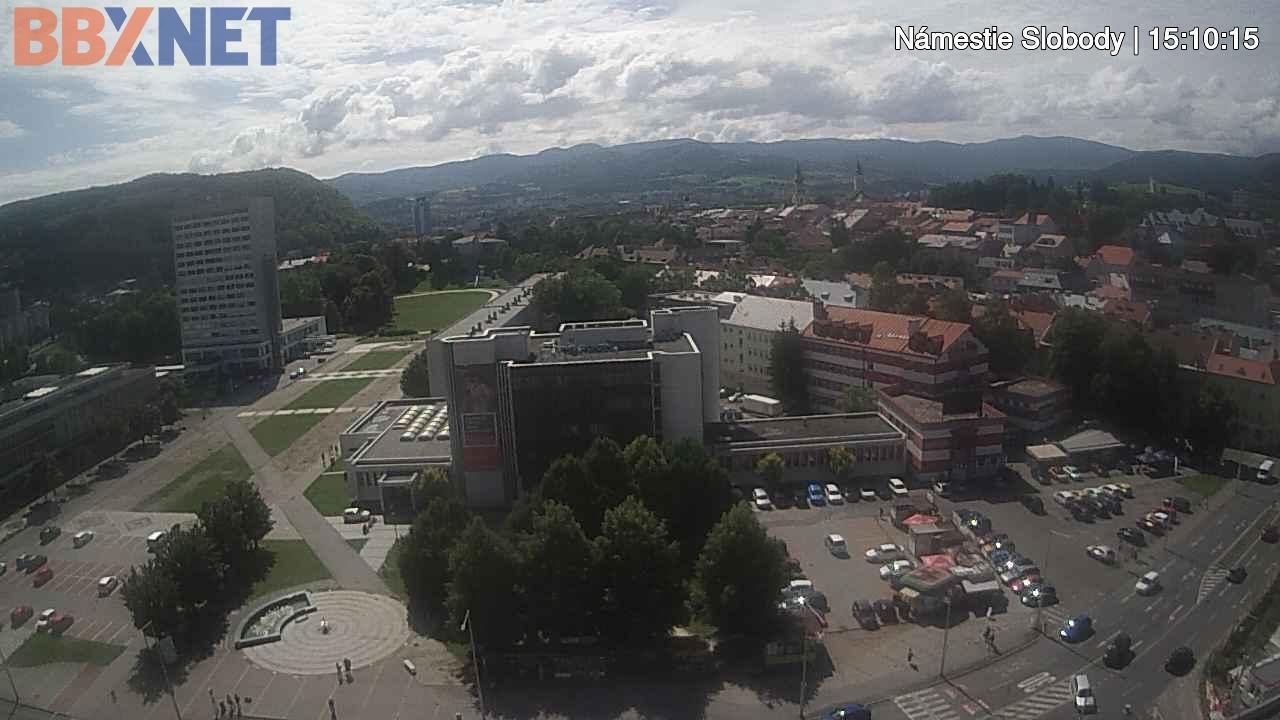 Webkamera Banská Bystrica › West: Námestie slobody