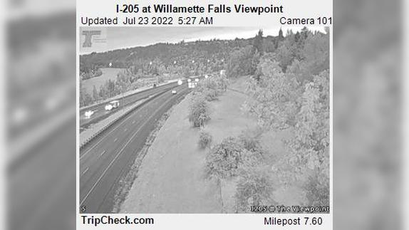Webcam Canemah: I-205 at Willamette Falls Viewpoint