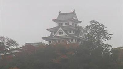 Webkamera 郡上 › North: Gujo Hachiman Castle