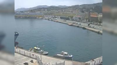 Vista de cámara web de luz diurna desde Bastia