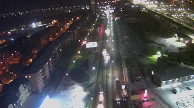 Webcam Ulan-Ude: prospekt Avtomobilistov