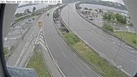Ostermalms stadsdelsomrade: Tpl Ropsten (Kameran är placerad på väg  Lidingövägen i höjd med Ropsten och är riktad mot Lidingö) - Dagtid
