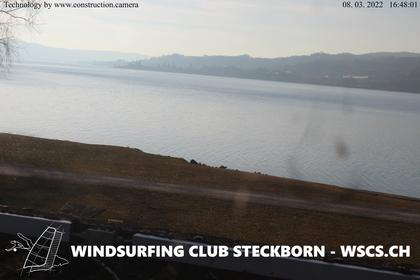 Steckborn › West: Windsurfing Club Steckborn - Surfplatz Steckborn - Untersee