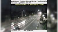 Beaverton: Washington County - Murray Blvd at Farmington Rd - Actuales