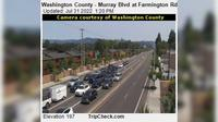 Beaverton: Washington County - Murray Blvd at Farmington Rd - El día