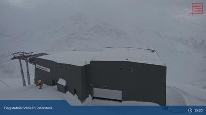 Andermatt: Oberalppass - Schneehüenerstock