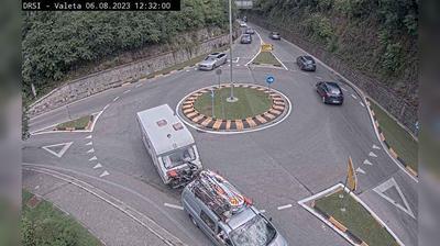 Vue webcam de jour à partir de Portorož: G2 111, Valeta − Sečovlje, Valeta