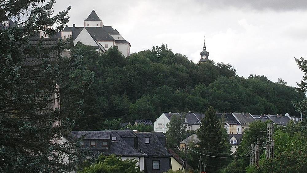Webcam Augustusburg: im Erzgebirge − Schloss