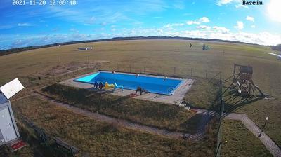 Vista de cámara web de luz diurna desde Pociūnai: Pociūnų aerodromas
