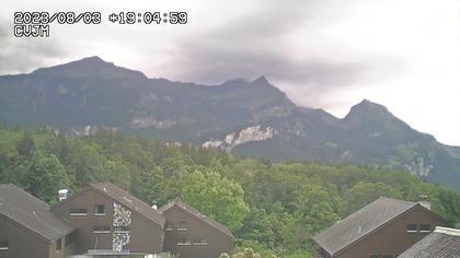 Hasliberg Hohfluh: Hasliberg: Blick auf die Berner Alpen
