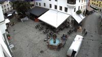Ultima vista de la luz del día desde Kitzbühel: Hinterstadt Nord