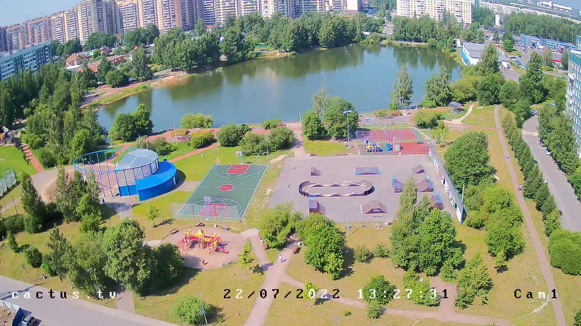 Webcam Медвежий Стан: Девяткинское озеро