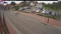Gadebusch: Parkplatz Lübsche Str., im Hintergrund das Schloß - Actual