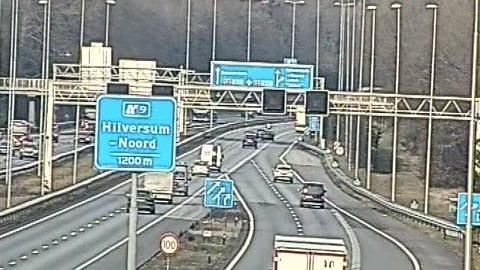 Webcam Sint Janskerkhof: A1/A27 Eemnes