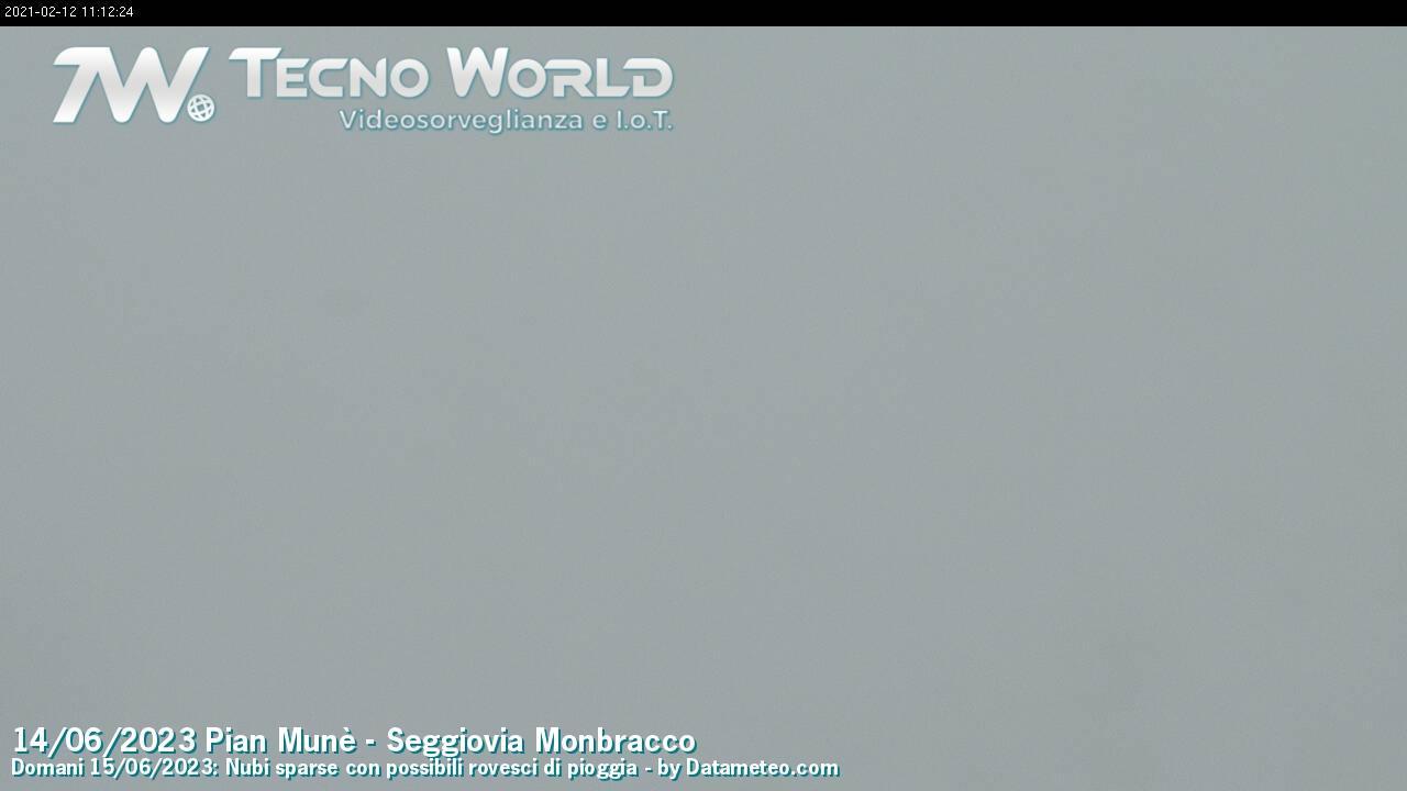 Веб-камера Paesana: Pian Munè,seggiovia Monbracco