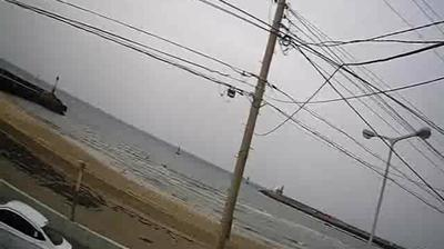 Webcam Jeju City: iho taewoo beach hd-str