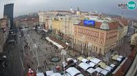 Zagreb: Ban Jelačić Square - Current