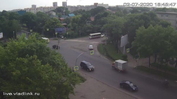 Webkamera Ussuriysk: Некрасова − Комарова