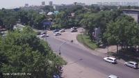 Ussurijsk: Уссурийск, перекресток Некрасова - Комарова - Overdag