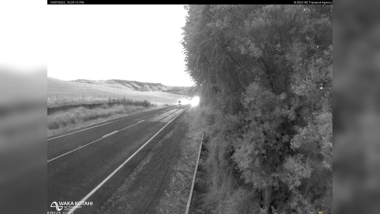 Webkamera Murimotu › South: SH1 South of Waiouru, Waikato
