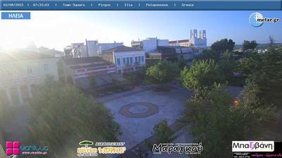 Thumbnail of Pyrgos webcam at 11:08, Apr 11