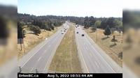 Saanich > East: , Hwy  at Helmcken overpass, looking east - Current