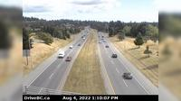 Saanich > East: , Hwy  at Helmcken overpass, looking east - Day time