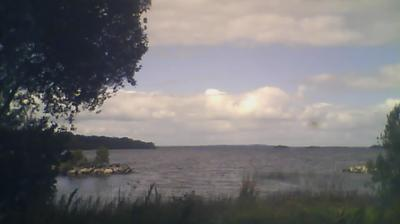 Daylight webcam view from Athlone: Lough Ree
