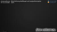 Kurzras - Maso Corto: Hintereisferner - Blick Richtung Wei�kugel und Langtaufererspitze - Overdag