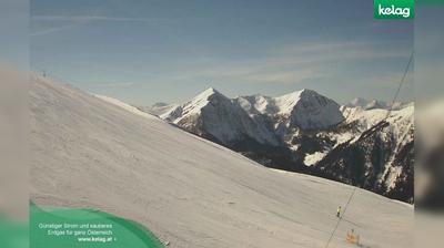 Vue webcam de jour à partir de Schwaig: Karnische Alpen