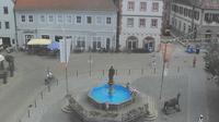 Volkach: Rathausplatz - Day time