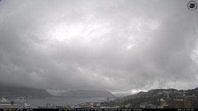 Vista de cámara web de luz diurna desde Tromsø › South: Institutt for Informatikk, Universitetet