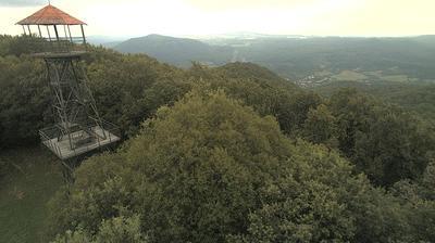 Daylight webcam view from Bobonyérpuszta: Karancs Mountain Live webcam