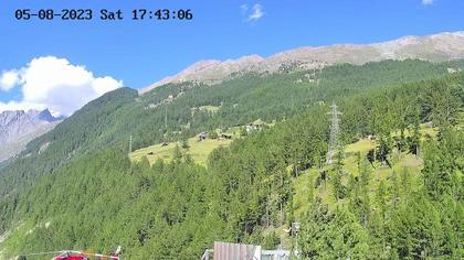 Riederalp: Air Zermatt - Heliport