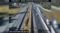 Caboolture: South - Bribie Island Interchange over Bruce highway (looking South)