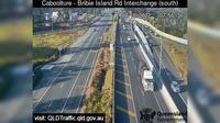 Caboolture: South - Bribie Island Interchange over Bruce highway (looking South) - Recent