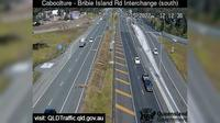 Caboolture: South - Bribie Island Interchange over Bruce highway (looking South) - Dagtid