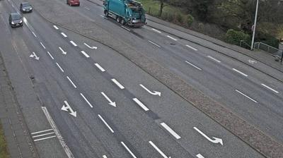 Daylight webcam view from Skalborg: Aalborg, Hobrovej Ecke Stationsmestervej, Richtung Nord