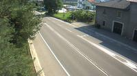 Denno: SS al km , in localit� Mollaro (comune Taio) vista con direzione nord - El día