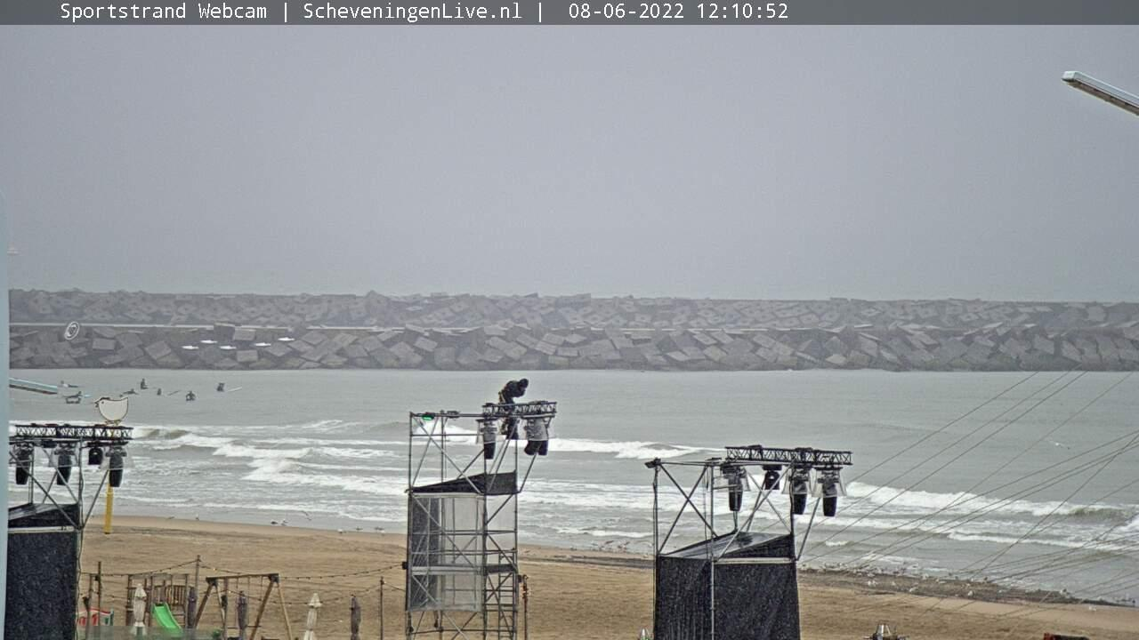 Webcam Scheveningen: strand