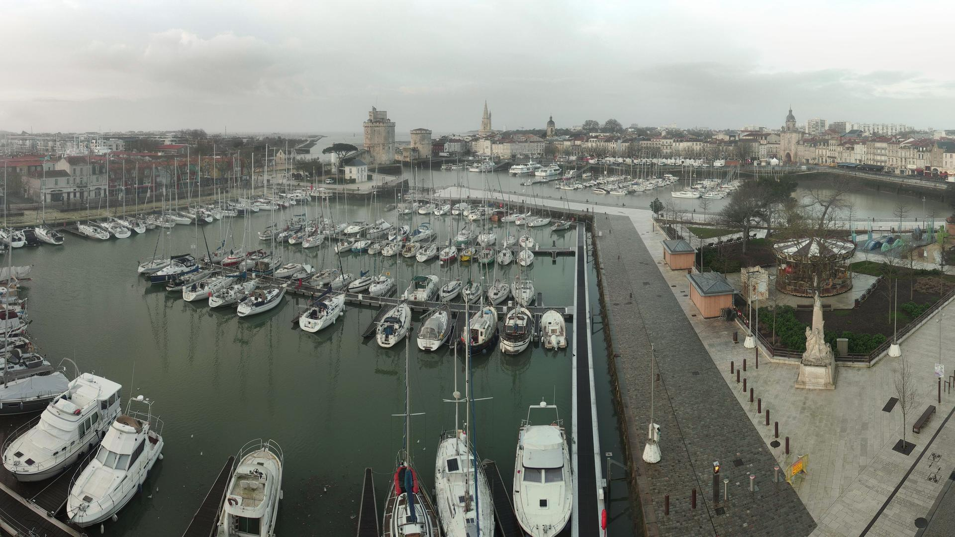 Webcam La Rochelle: Panoramique HD