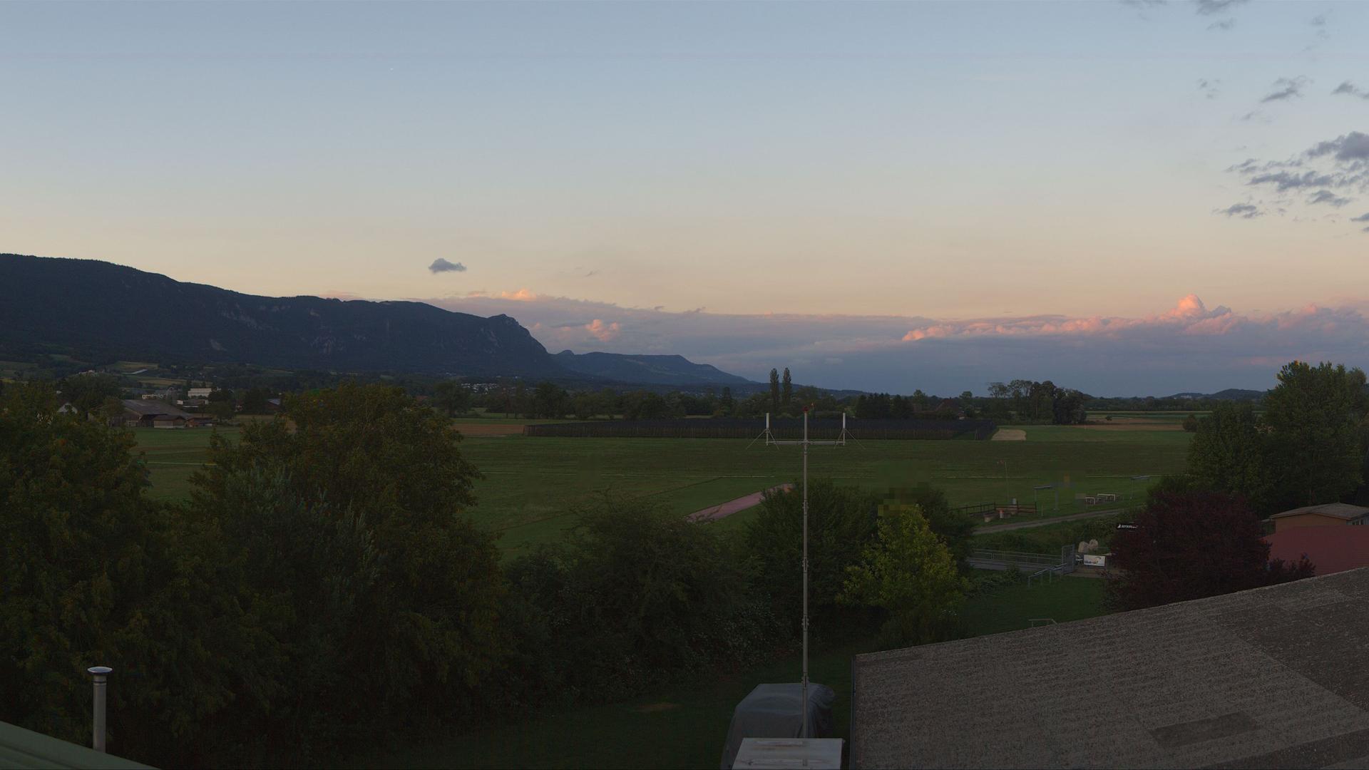 Webcam Grenchen Flughafen: 360 Grad Wetterbild