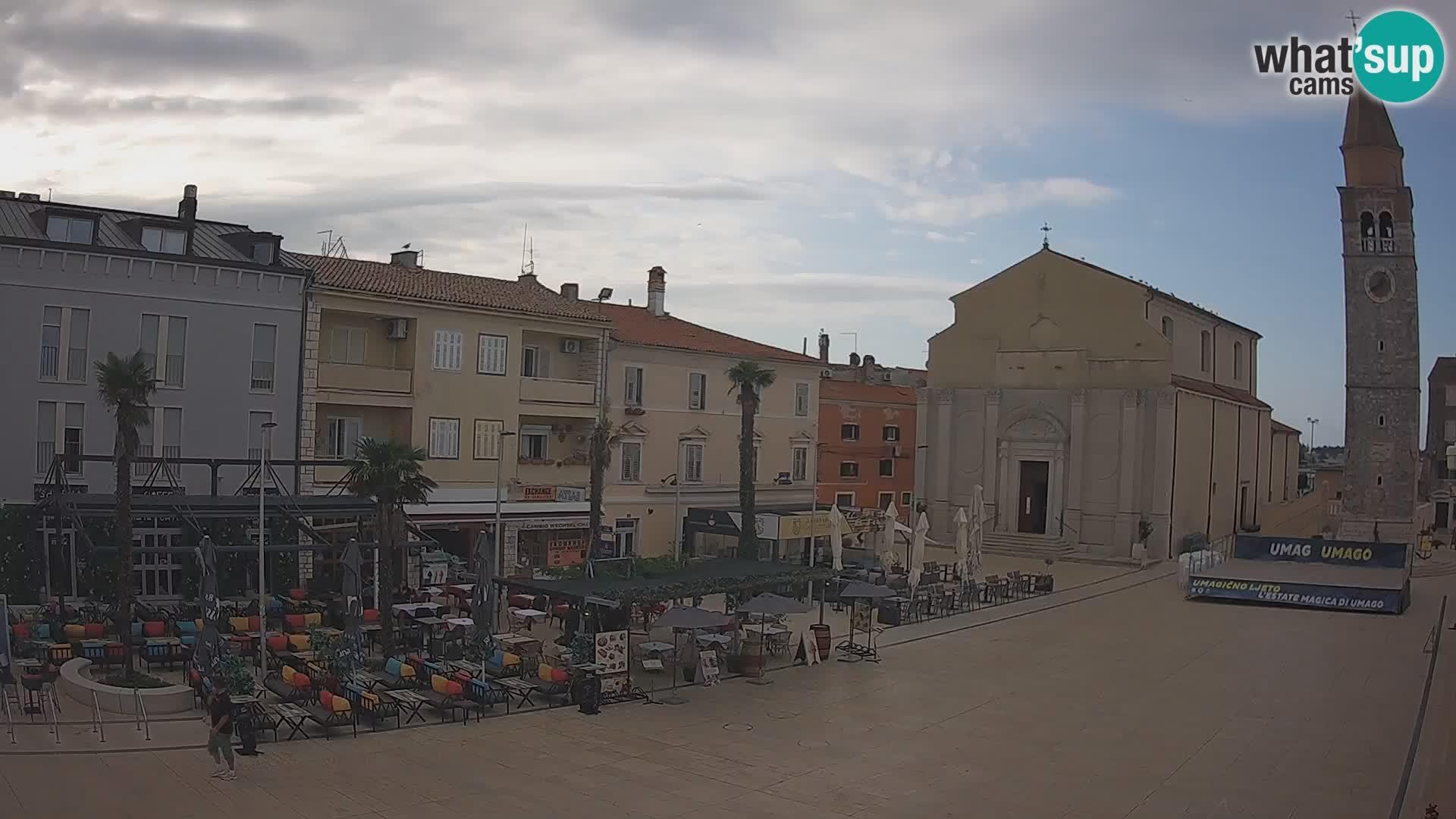 Webcam Umag: City center