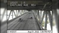 Seattle: I- at MP .: Eastlake Ave Express Lanes - Overdag