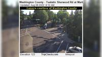 Tualatin: Washington County - Sherwood Rd at Martinazzi Ave - Current