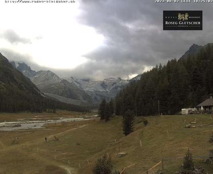 Sankt Moritz › Süd: Hotel Restaurant Roseg Gletscher