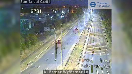 Webcam Barnet: A1 − Wy − Ln
