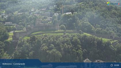 Bellinzona: Castelgrande, Castello di Montebello