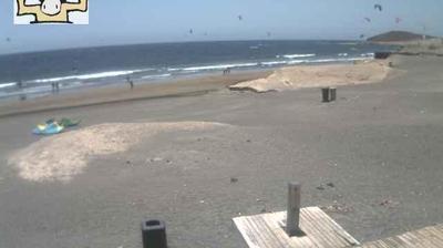 Tageslicht webcam ansicht von El Medano: Montaña Roja