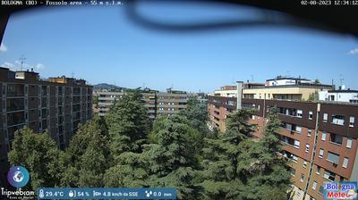 Tageslicht webcam ansicht von Bologna